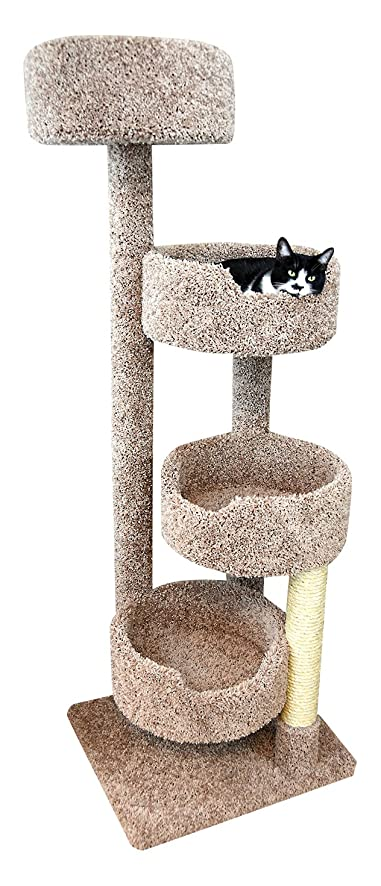 New Cat Condos Brown Large Cat Stairway