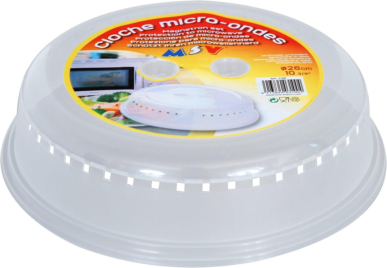 Compra MSV MS308 - Tapa de plástico para microondas, diámetro de ...
