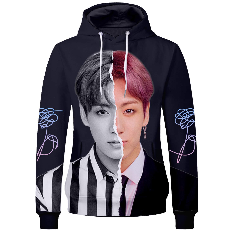 Kpop Hoodie Bangtan Boys Love Yourself V Jimin SUGA Jungkook Hoodie Sweater