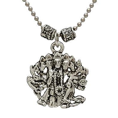 Memoir antique finish panchmukhi hanuman bajrang bali hindu god memoir antique finish panchmukhi hanuman bajrang bali hindu god pendant temple jewellery chain pendant necklace jewellery aloadofball Images