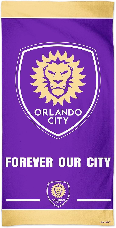 30 x 60-Inch MLS Orlando City SC Fiber Beach Towel