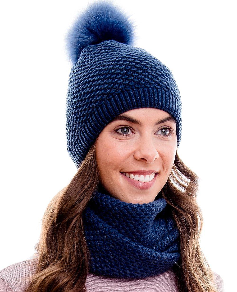 Hilltop Winter Loop-Schal Rundschal aus 100/% Baumwolle