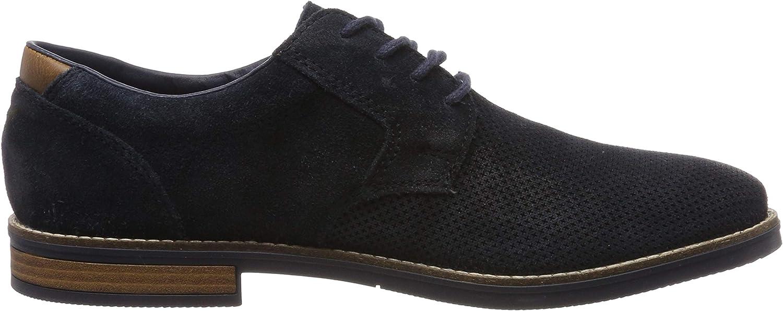US Pacific Oily Suede Rieker Mens Ellis Suede Lace Up Shoes 40 M EU// 7 D M