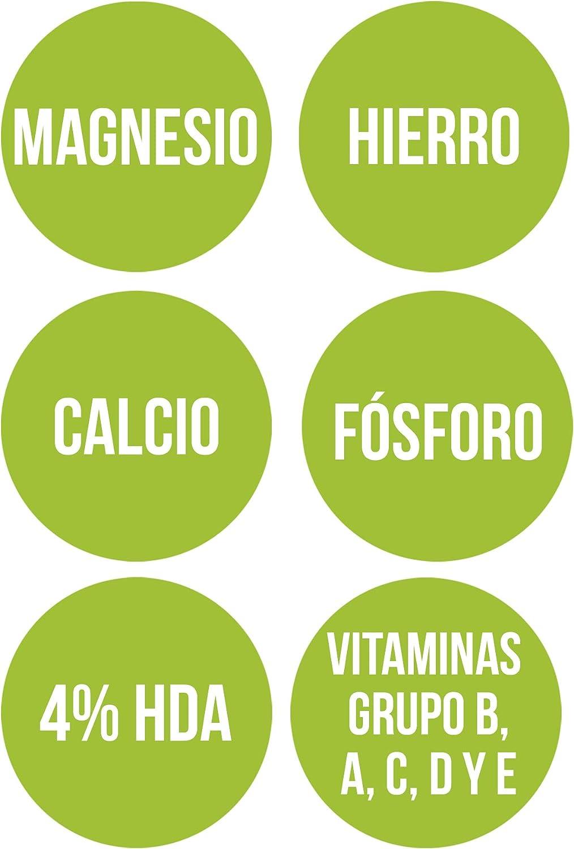 Ana Maria Lajusticia - Jalea real con Magnesio – 60 cápsulas. Proporciona energia y vitalidad. Contribuye a disminuir el cansancio y la fatiga. Envase ...