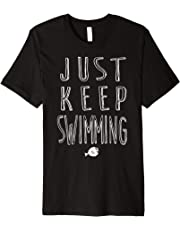 Disney Finding Dory Keep Swimming Graphic T-Shirt