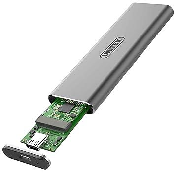 Unitek S1201A - Carcasa para Disco Duro SSD M.2 (USB 3.1 ...