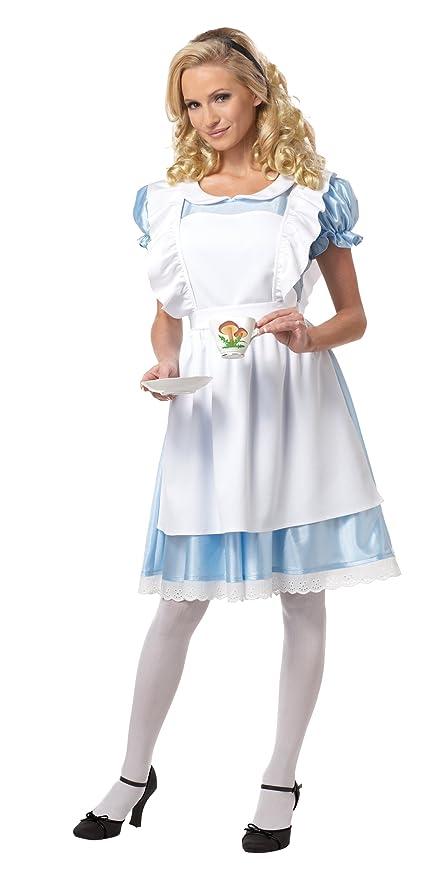Alice In Wonderland Costume Medium  Amazon.it  Sport e tempo libero 4028638709e