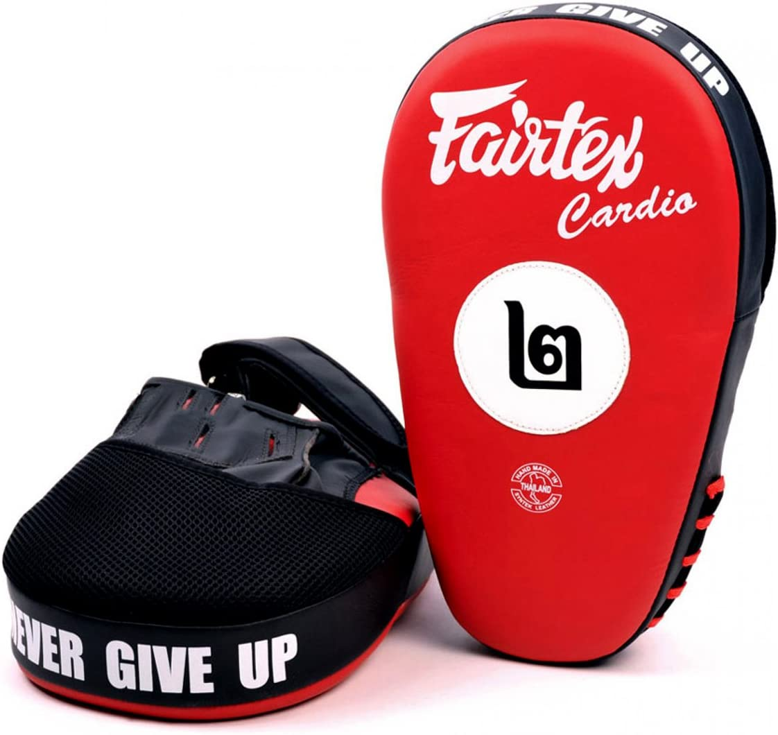 Fairtex FMV12 Anular Focus Mitts Punch Muay Thai MMA Pads Equipment Thai Boxing Pad