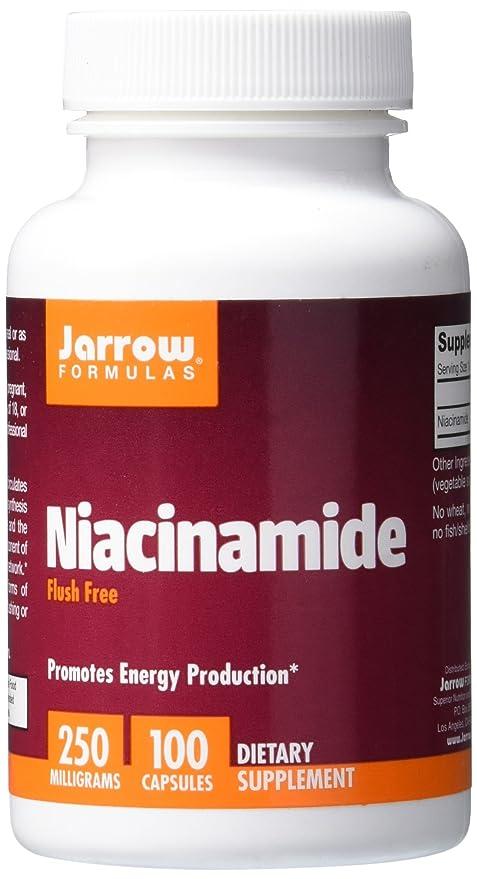 Niacinamida, 250 mg, 100 Cápsulas - Fórmulas de Jarrow ...