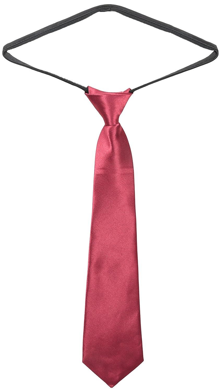 American Exchange Big Boys' Solid Zipper Tie American Exchange Boys 8-20 ZSNT00B