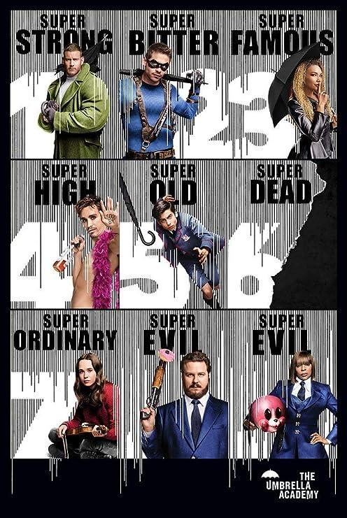 Yutirerly The Umbrella Academy TV Show Poster 24in x 36in: Amazon.es: Hogar