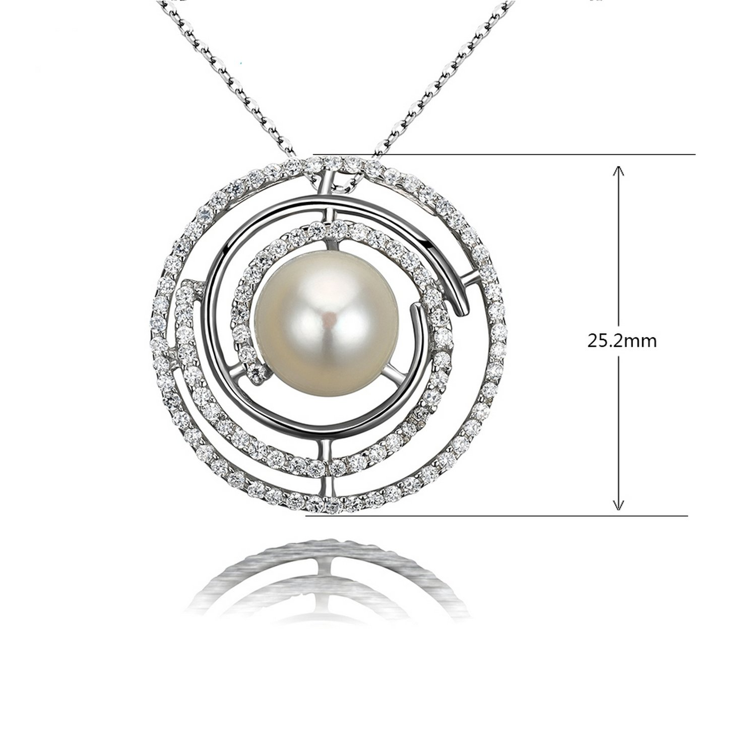 MMC Pearl Jewelry Silver Pendants Necklaces