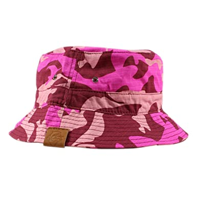 58862d14fd7b3 Pink Dolphin Camo Bucket Hat (one Size fits All
