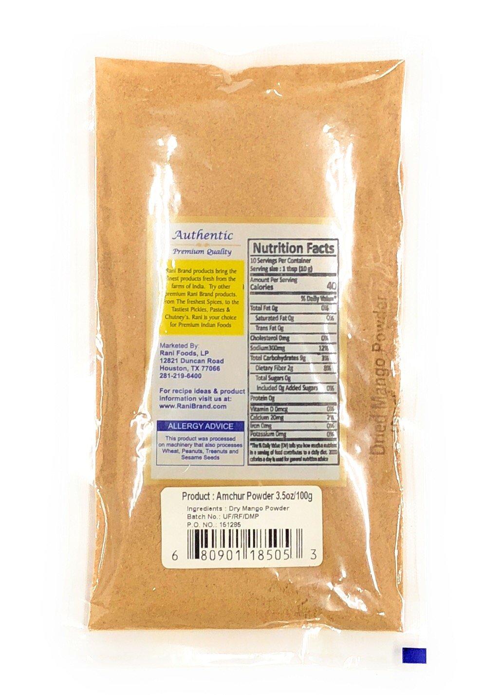 Rani Amchur (Mango) Planta Peso neto. 3oz (85gms): Amazon.es: Alimentación y bebidas