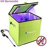 PULUZ UV Sterilizer Box, 30cm Disinfection Tent Box Smartphone Sterilizer Portable UV Light Disinfection Underwear…