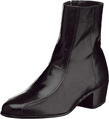 Mens Black Dress Boots