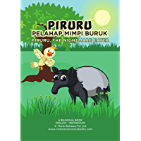 Piruru the Nightmare Eater: Bahasa Indonesian and English Bilingual Reader, Wild Animal Activity Books for Kids Ages 4-8 (Indonesian Animals Series Book 2) (English Edition)