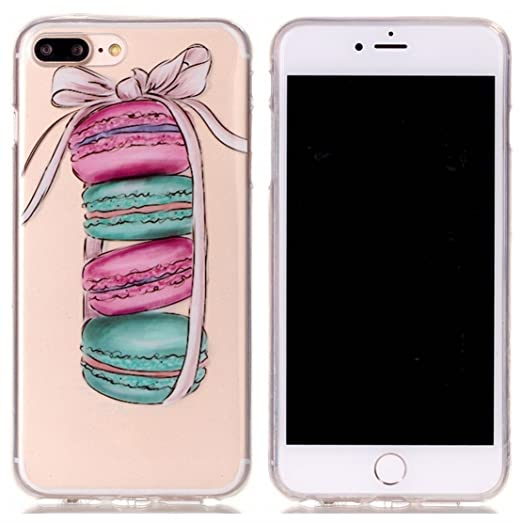 24 opinioni per Voguecase® Per Apple iPhone 7 Plus 5.5,Custodia Silicone Morbido Flessibile TPU