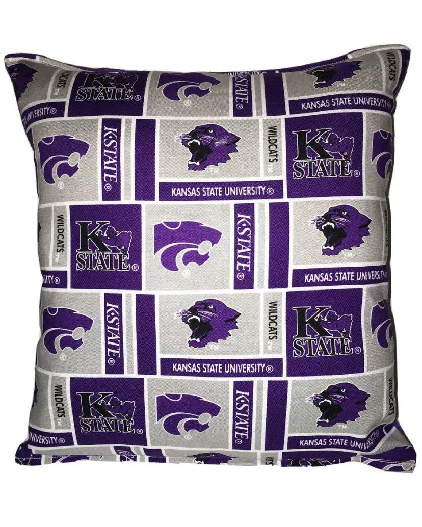 NCAA Kansas State Wildcats Jacquard Pillow 20