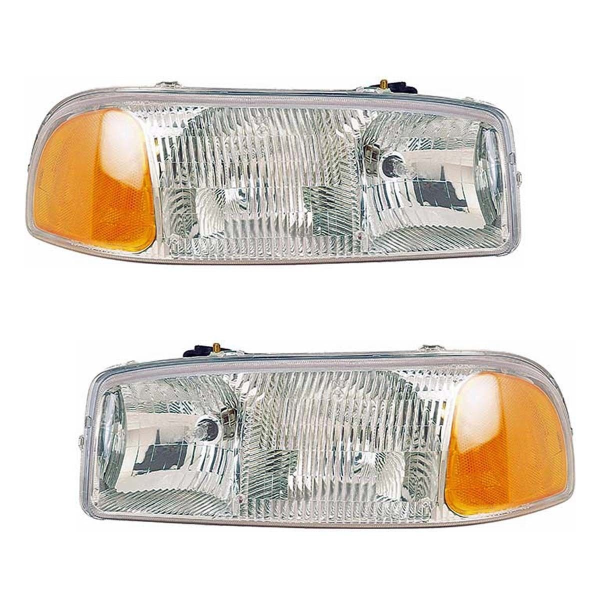 GMC Sierra/Yukon Headlights OE Style Replacement Headlamps Driver/Passenger P...