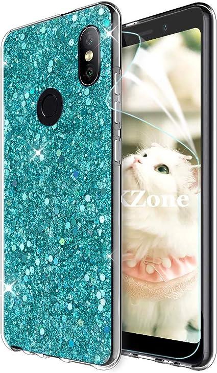 OKZone Funda Xiaomi Redmi Note 5 Pro, Cárcasa Brilla Glitter ...