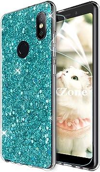 OKZone Funda Xiaomi Redmi Note 5 Pro, Cárcasa Brilla Glitter Brillante TPU Silicona Teléfono Smartphone Funda Móvil Case [Protección a Pantalla y Cámara] para Xiaomi Redmi Note 5 Pro (Verde): Amazon.es: Electrónica