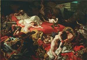 Eugene Delacroix La Muerte De Sardanapalus C1844 250 gsm