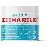 Orellis Cream For Body & Face. Powerful, All-Natural Formula For Eczema Relief. Free of Fragrances. Dermatitis & Eczema…