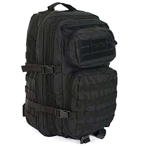 0de65a2cd65ef Buy Mil-Tec - US Assault Pack Small Rucksack ca. 20L Black Small Online at  Low Prices in India - Amazon.in