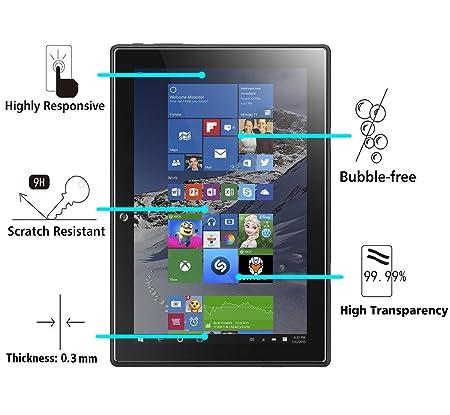 iVoler Protector de Pantalla para Lenovo Miix 310, Cristal Vidrio Templado Premium: Amazon.es: Electrónica