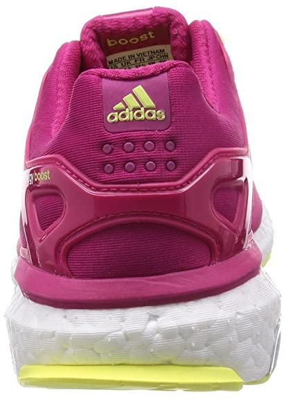 adidas Performance Energy Boost ESM, Chaussures de course femmes, Bold Pink / Bold Pink / Frozen Yellow, 39 1/3