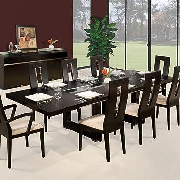 Amazon Com Sharelle Furnishings Novo Extendable Dining Table Tables,Golden Girls Home Floor Plan