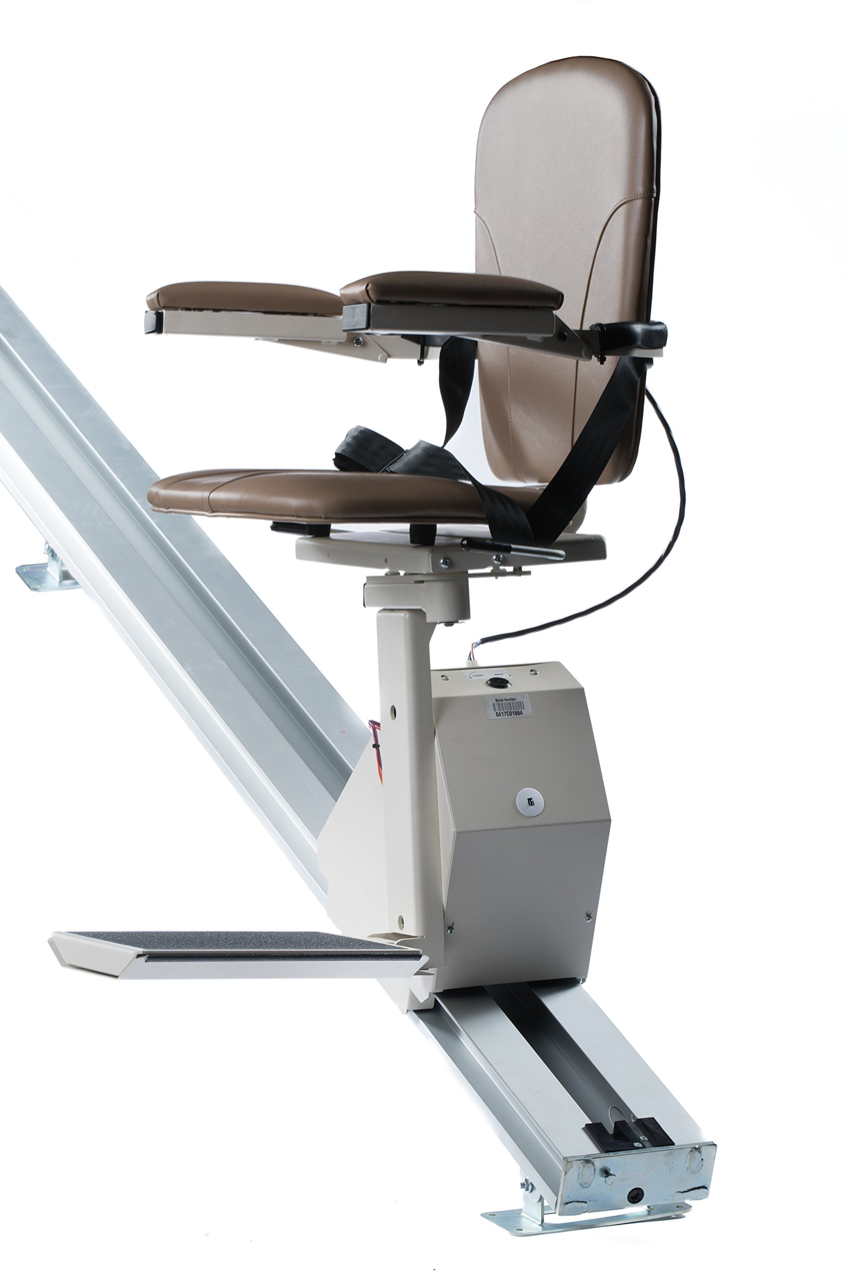 Universal Stair Lift - 350lb Capacity - Folds Flat to Wall - Includes Warranty by Universal Lifts