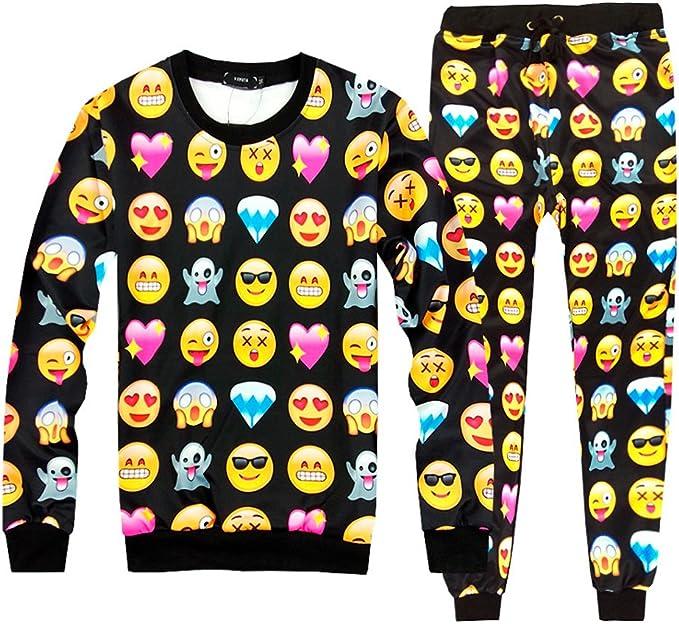 Pijama Disfraz Emoji Emoticono Confortable Invierno Temporada Moda ...