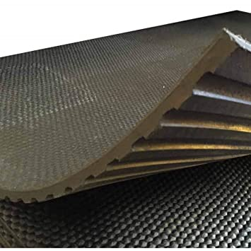 Heavy duty large rubber gym mat commercial flooring mm garage