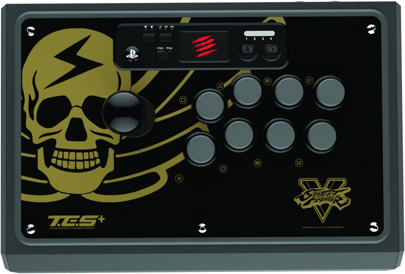 Madcatz - Street Fighter V Arcade Stick Tournament Edition S+: Amazon.es: Videojuegos