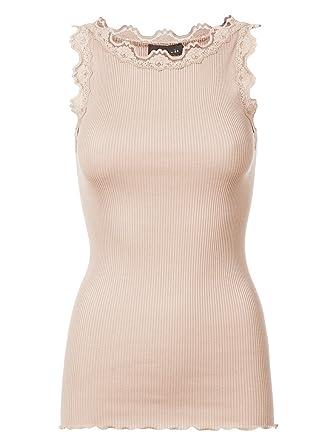 buy popular 31ffb c7881 Rosemunde Damen Shirt ärmellos Beige - XL (42): Amazon.de ...