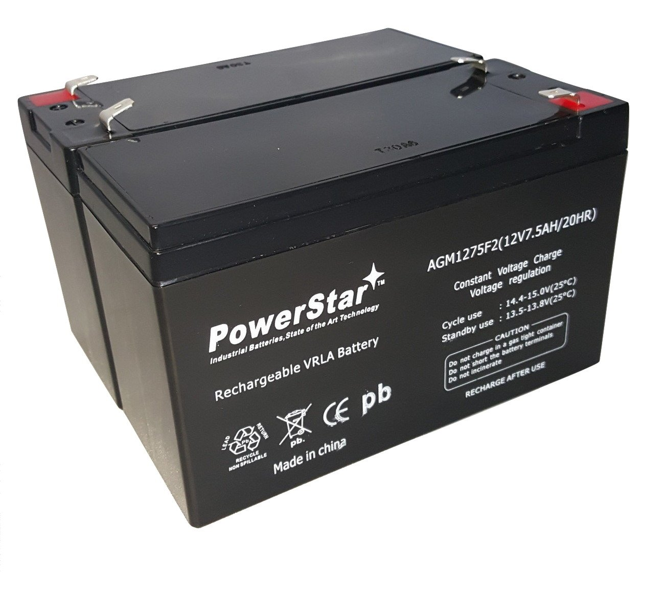 Amazon.com: 12V 7.5AH BATTERY for RAZOR E200 & E300S ELECTRIC ... on honda scooter battery, power scooter battery, honda atv 12v battery, 36 volt electric bike battery, electric scooter battery,