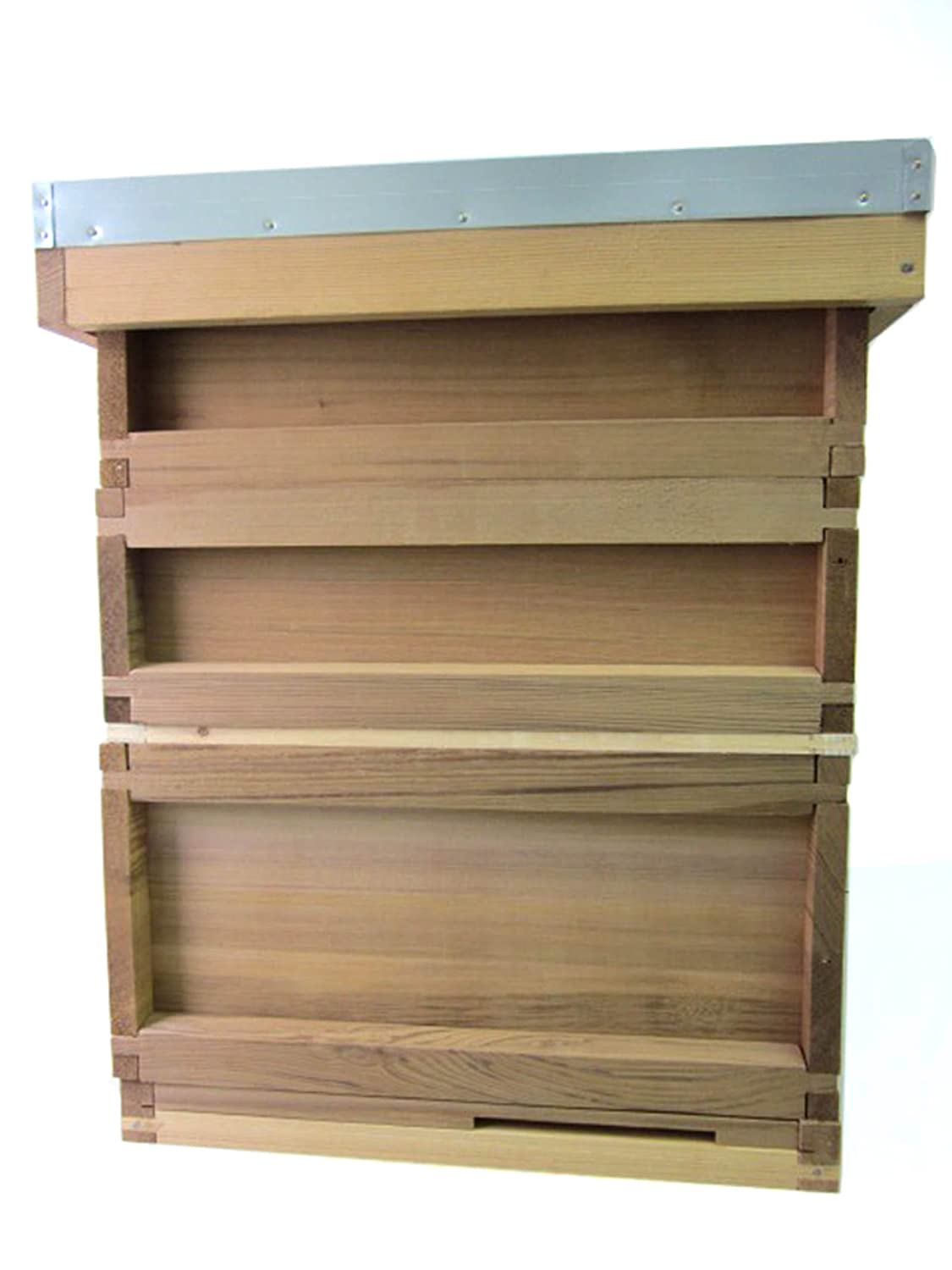 Easipet National Cedar Bee Hive Starter hive with frames and wax by FED21612