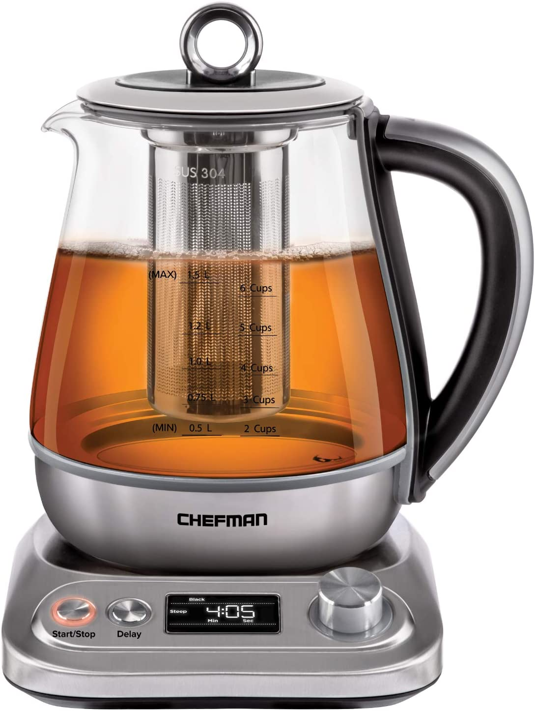 chefman perfectea electric tea maker