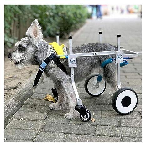 Carrito para perros, adecuado para la práctica de mascotas, rehabilitación, incapacidad de extremidades