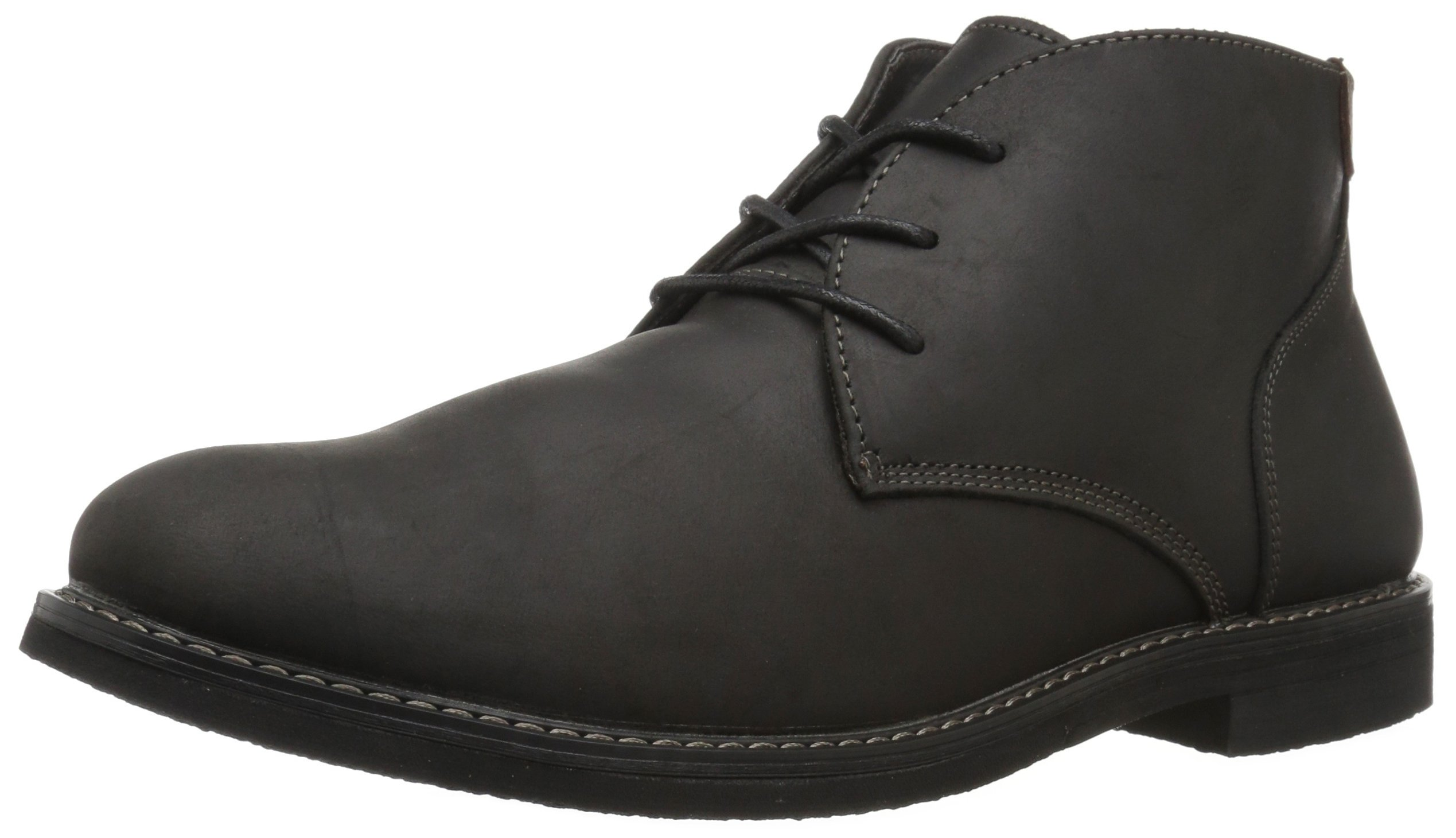 Nunn Bush Men's Lancaster Chukka Boot, Black, 11.5 M US by Nunn Bush