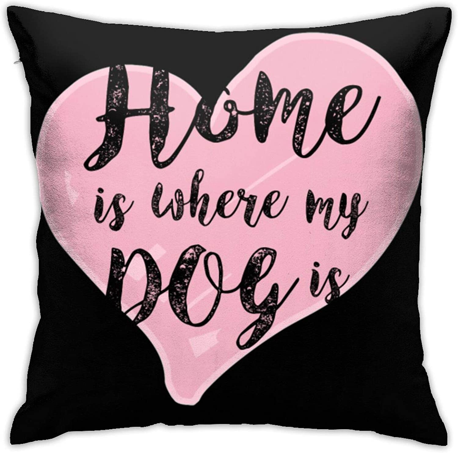 Xiaojun Home is Where My Dog is Pullover Hoodie Pillowcases, Floor Pillowcases, Pillowcases, Sofa Cushions, Cushion Covers, Backrest Covers, Car Cushion Interiors