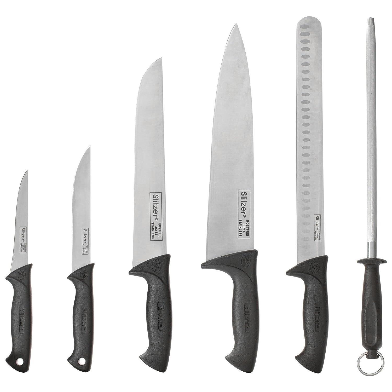 Amazon.com: 6 piezas de acero inoxidable Chef profesional ...