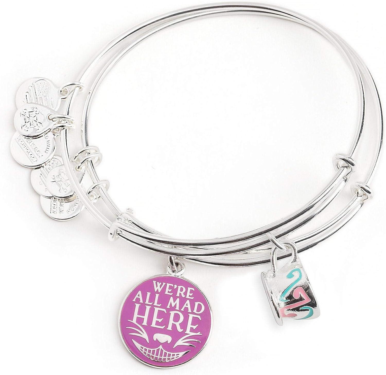 Disney Alice In Wonderland Rose And Cards Bracelets Set One Size