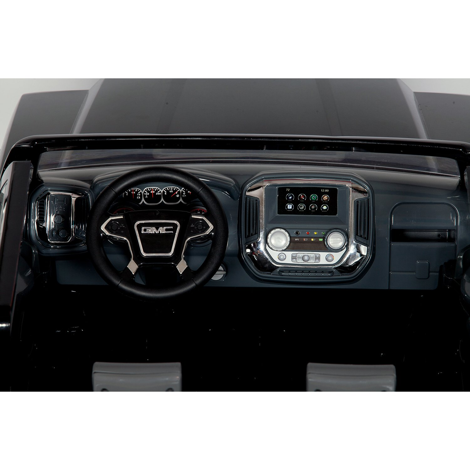 Rollplay GMC Sierra Denali 12-Volt Battery-Powered Ride-On, Black by Rollplay (Image #5)