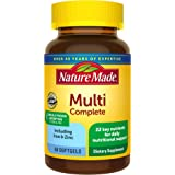 Nature Made Multivitamin Complete Softgels with Vitamin D3 and Iron, 60 Count