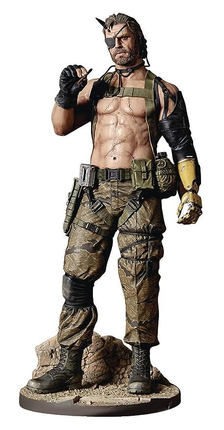GECCO Estatua Venom Snake 32 cm. Metal Gear Solid V: The Phantom Pain. Play Demo Version. Escala 1:6