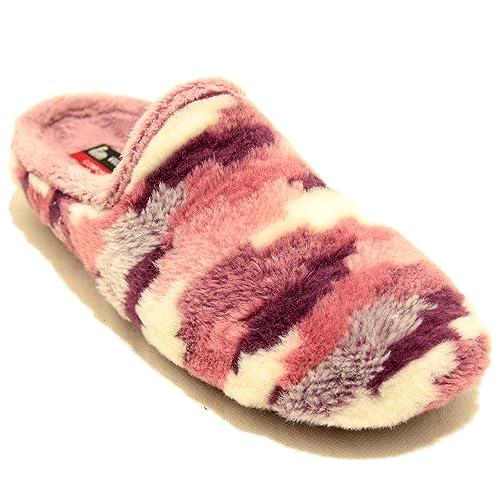 Vulca Bicha Zapatillas Colores Rosas y Lilas - Rosa, 37: Amazon.es: Zapatos y complementos