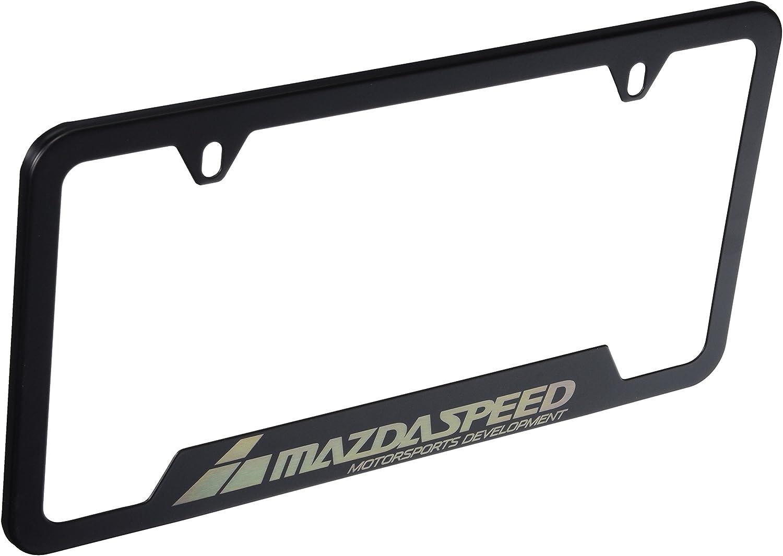 Mazda Genuine Accessories BLMS-8M-C04A License Plate Frame